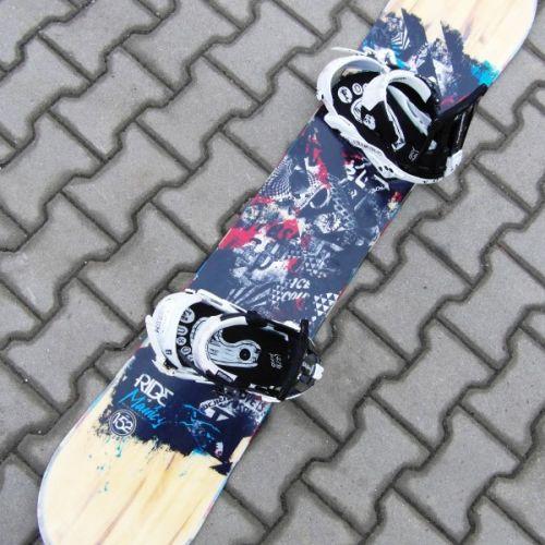 Prodám   Snowboard Ride Manic 152cm + vázání Forum   Snowboard e3b9a18c57